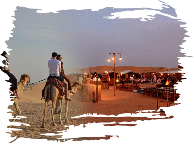 One hour camel ride desert camping dubai, camel trekking-safari-tour- dubai